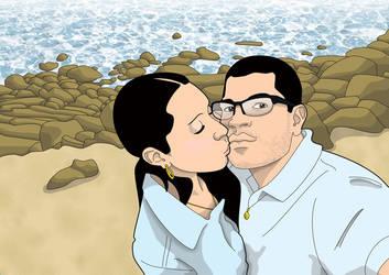 Desenho // Luciana e Thiago Palafoz by Quislom