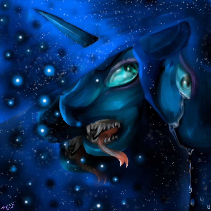 (Contest Entry) Nightmare Moon by NeonSpirit17