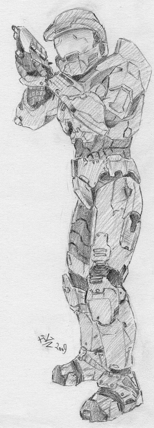 Spartan 117 by GaMu-ChAn