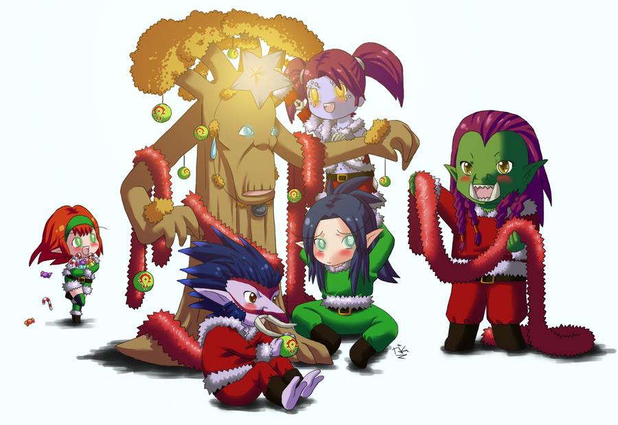 world of warcrafts christmas by - World Of Warcraft Christmas