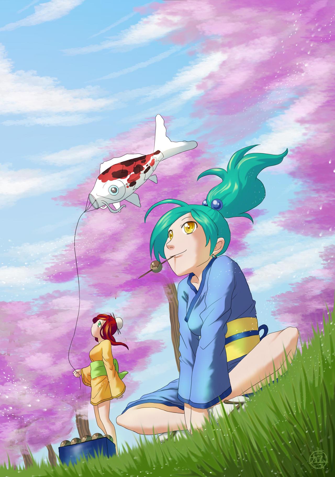 Blossom by GaMu-ChAn