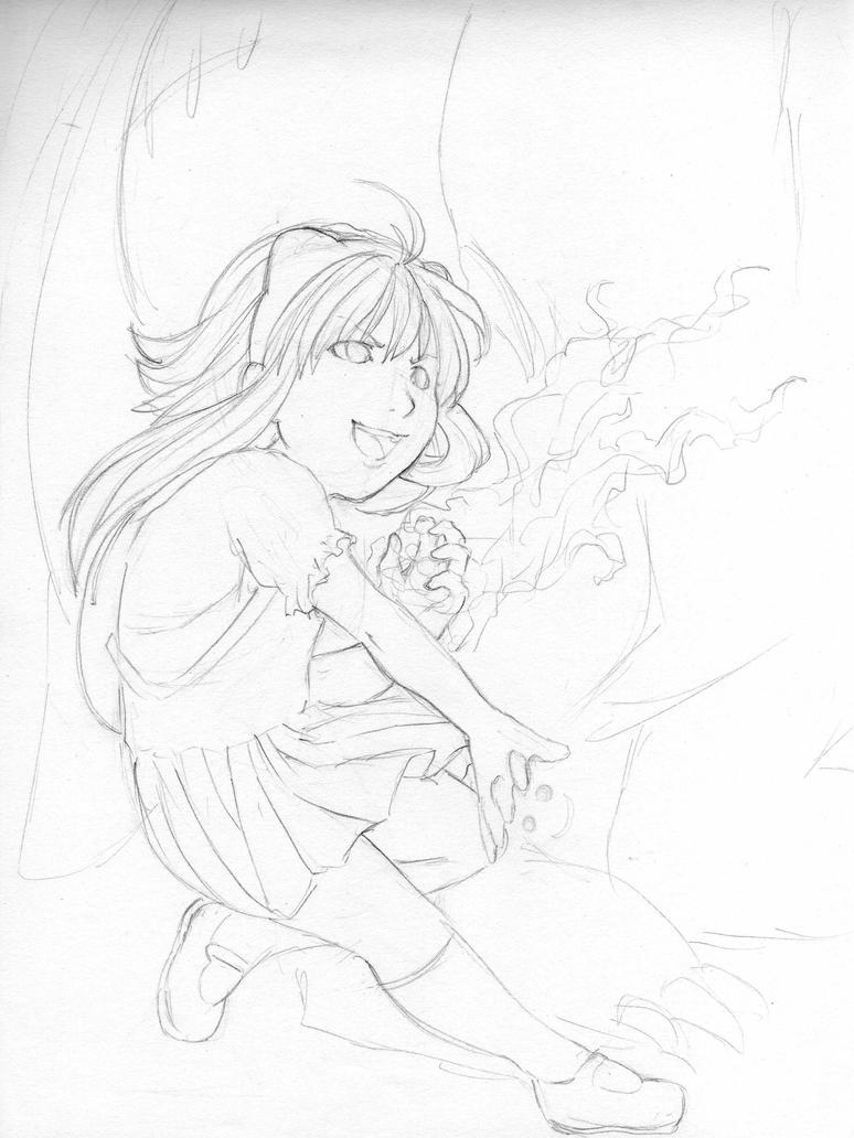 Annie sketch by GaMu-ChAn