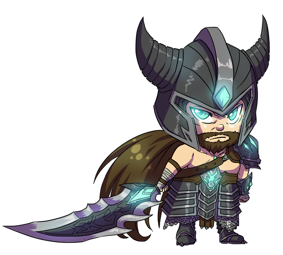 Chibi Tryndamere by GaMu-ChAn on DeviantArt