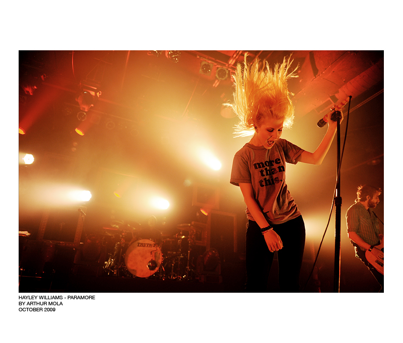 hayley williams of paramore by banxter