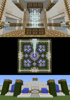 Kingdom Of Light - Enterance - Top - Core by drageta