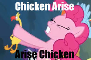 Chicken Arise-arise Chicken by drageta