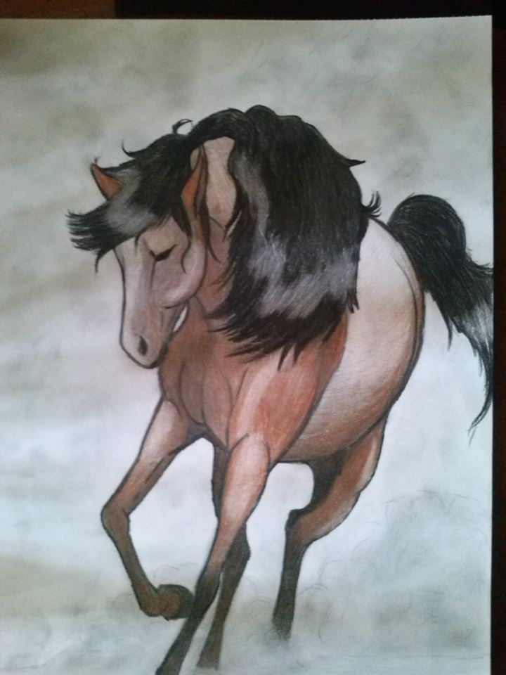 Horse by iiBiancax3