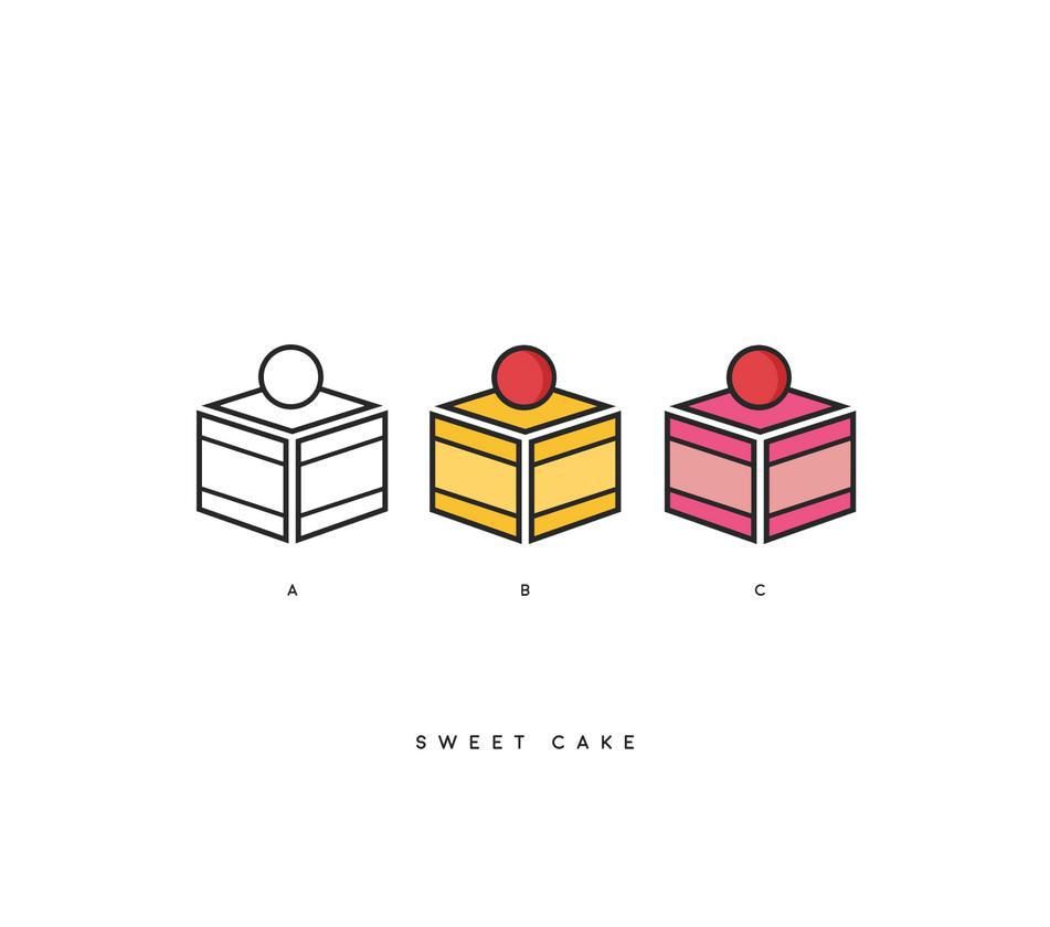 Sweet Cake Logo by Gpao on DeviantArt
