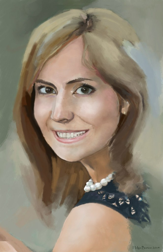 Portrait of my sister by Tavra