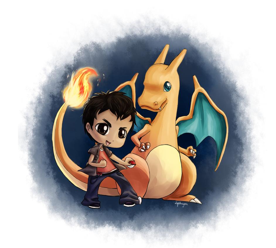 Pokemon master in making by Leptocyon