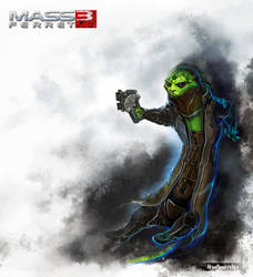 Thane Krios by Amales