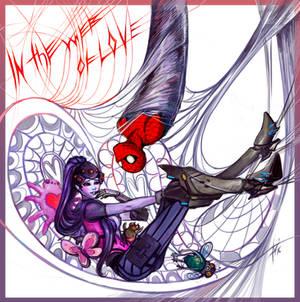 In web of love