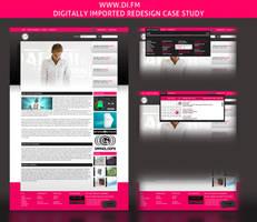di.fm redesign case study