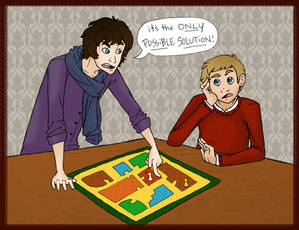 :Sherlock: its the ONLY POSSIBLE SOLUTION
