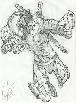 Metal Gear May Cry - Raiden