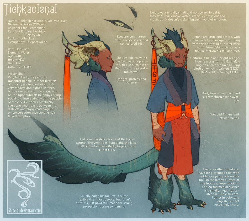 Aoien Reference by Shinerai