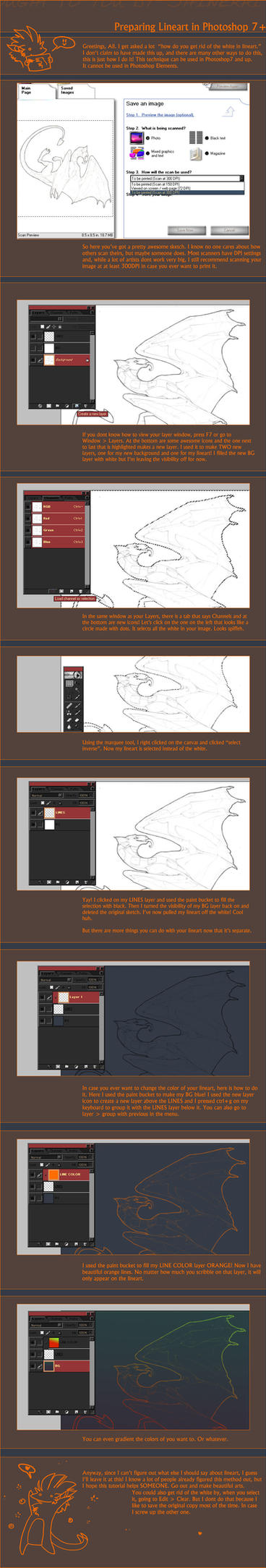 Tutorial: Preparing Lineart by Shinerai