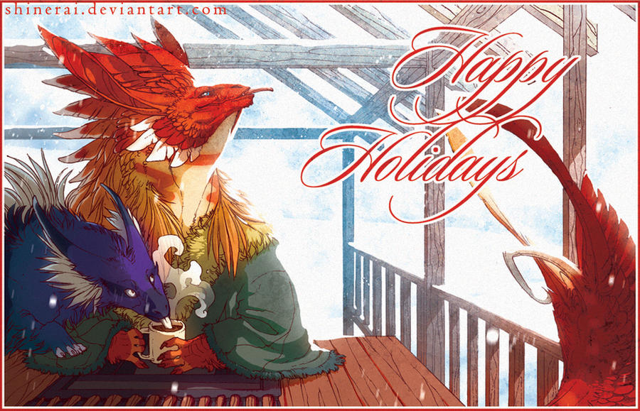 Happy Holidays by Shinerai