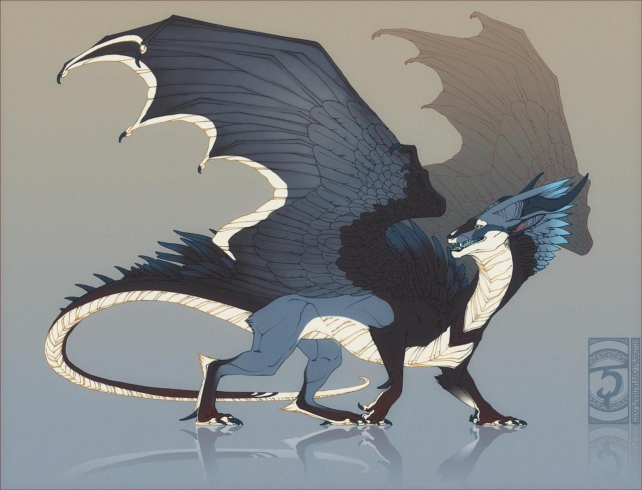 Bluejay Dragon By Shinerai On Deviantart