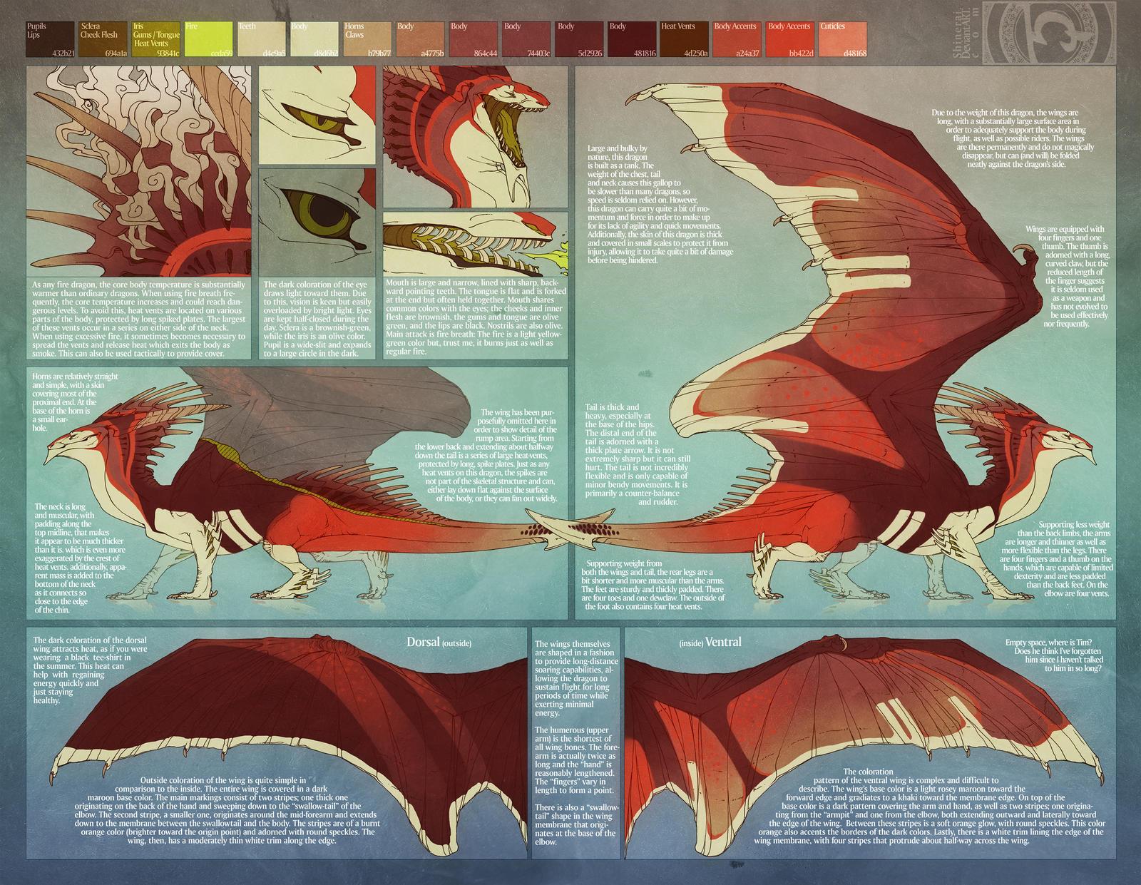 Fire Dragon by Shinerai