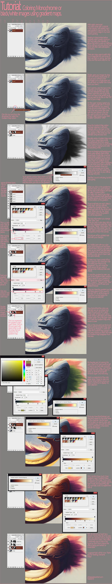 Tutorial: Adding Color With Gradient Maps by Shinerai