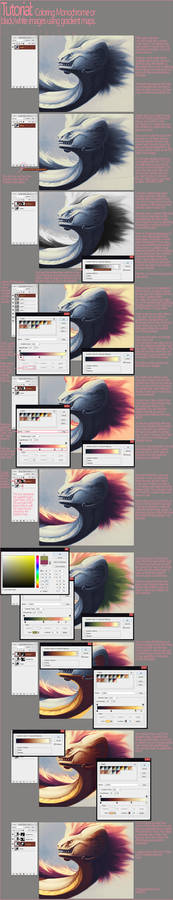 Tutorial: Adding Color With Gradient Maps