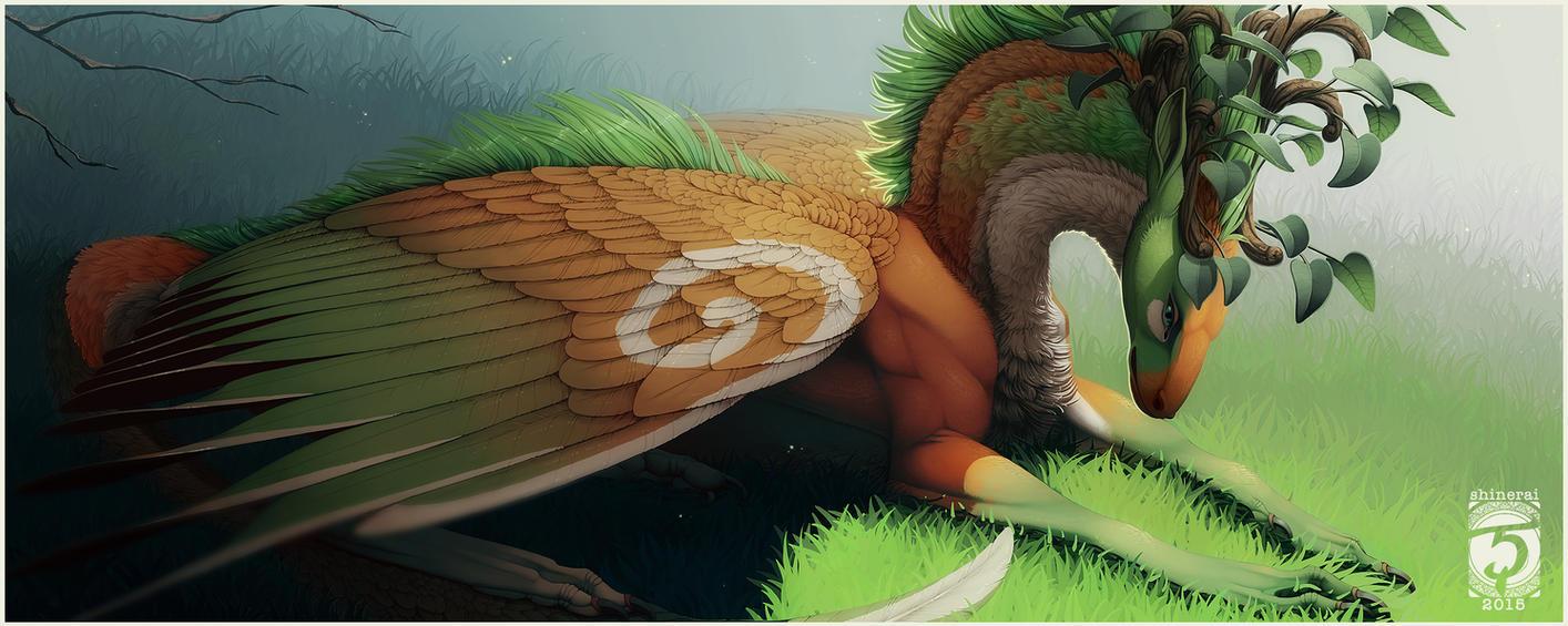 Commission: Wren by Shinerai