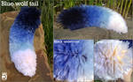 Blue Wolf Tail