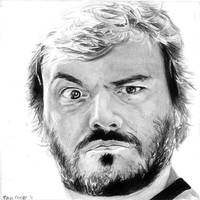 Jack Black by rcrosby93