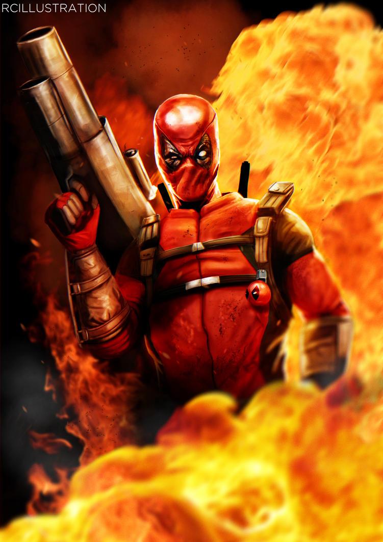 Deadpool by rcrosby93