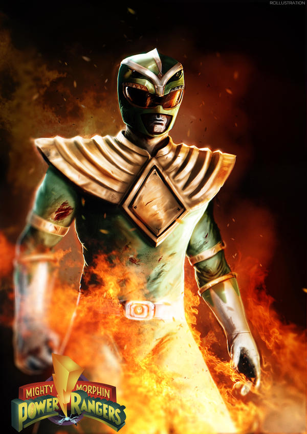 The Green Ranger by rcrosby93