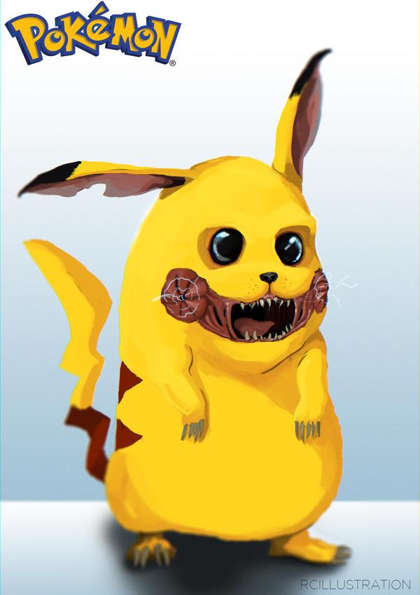 Pikachew! by rcrosby93