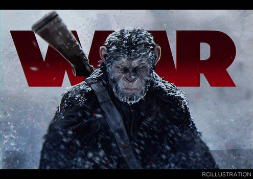War for The Planet of The Apes - Caesar