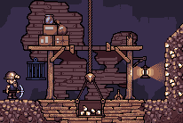 Cave Game Mockup by alexpang
