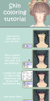 Skin coloring tutorial
