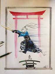 Usagi Yojimbo Kendo by Kokkinakis-Achilleas
