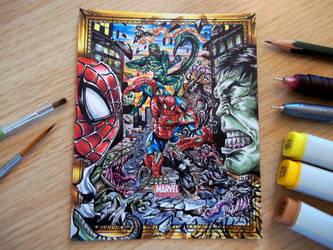 Spider Hulk by Kokkinakis-Achilleas