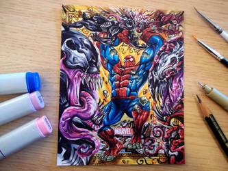 Spider Hulk Symbiotess by Kokkinakis-Achilleas