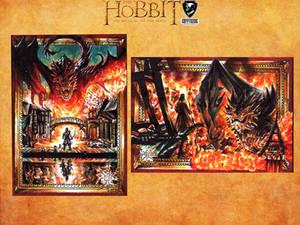 The Hobbit official card set