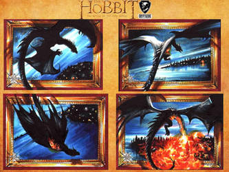 The Hobbit Official set - dragons by Kokkinakis-Achilleas