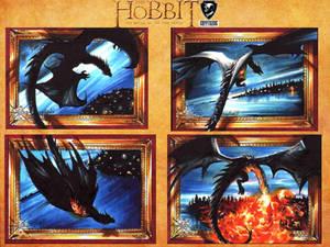 The Hobbit Official set - dragons