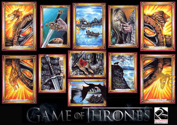 GAME OF THRONES Official set by Kokkinakis-Achilleas