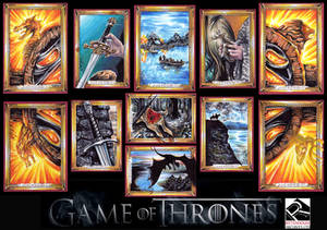GAME OF THRONES Official set