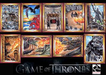 Game Of Thrones Season 5  Official set by Kokkinakis-Achilleas