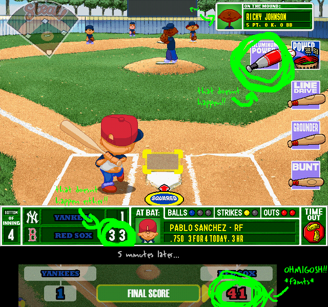 backyard baseball by spazticktiger12 on deviantart