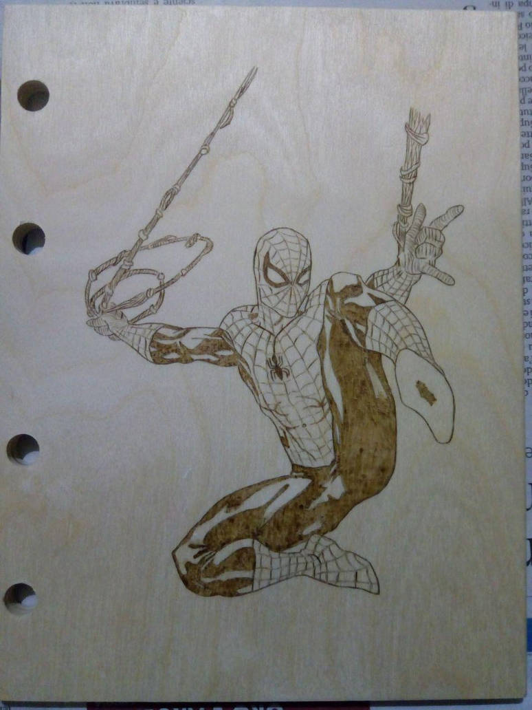 Spiderman Wooden Copybook by CPSCorporation