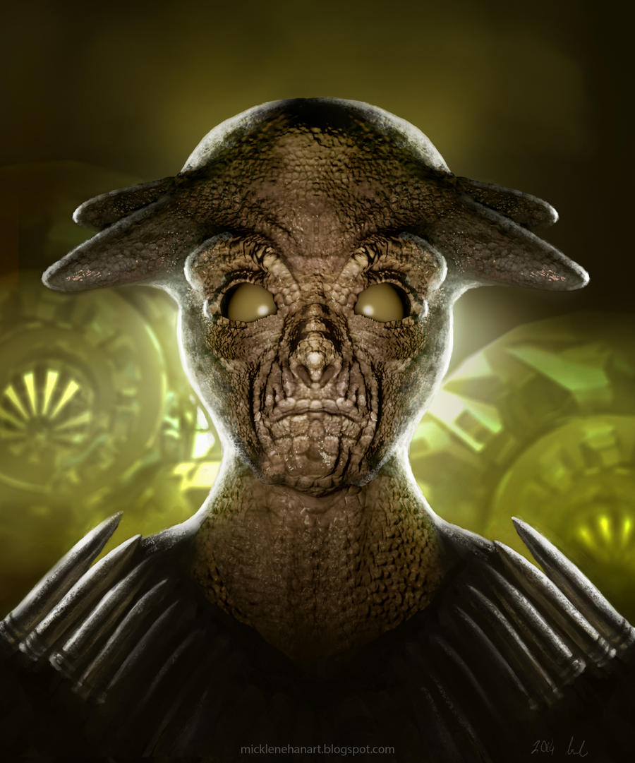 alien soldier by mick2...