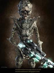 Alien Flesh Eater by Mick2006