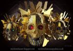 Cursed Skulls by Mick2006