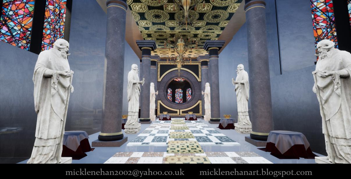 UE4 Palace by Mick2006